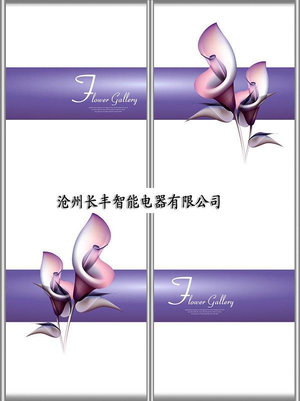 墙暖500W紫花